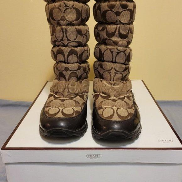 Funky COACH Jordy Winter Boot